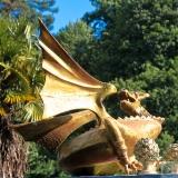 <h5>Le Dragon de Ton Jardin (Pont Aven - 29)</h5><p>Avec l'aimable autorisation de Carmelo De La Pinta 32 cm x 32 cm</p>